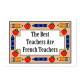 The Best Teachers Are French Teachers Postcards (P