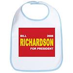 BILL RICHARDSON PRESIDENT 2008 Bib