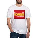 BILL RICHARDSON PRESIDENT 2008 Fitted T-Shirt
