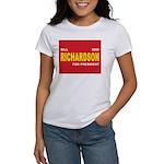 BILL RICHARDSON PRESIDENT 2008 Women's T-Shirt