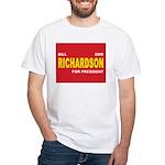 BILL RICHARDSON PRESIDENT 2008 White T-Shirt