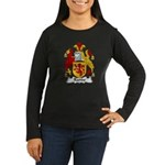 Rande Family Crest Women's Long Sleeve Dark T-Shir
