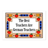 The Best Teachers Are German Teachers Postcards (P