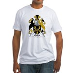 Quick Family Crest Fitted T-Shirt