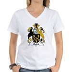 Quick Family Crest Women's V-Neck T-Shirt