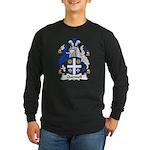 Quennell Family Crest Long Sleeve Dark T-Shirt