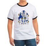 Quennell Family Crest Ringer T