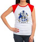Quennell Family Crest Women's Cap Sleeve T-Shirt