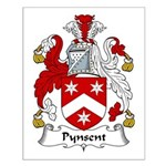 Pynsent Family Crest Small Poster