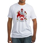 Pynsent Family Crest Fitted T-Shirt