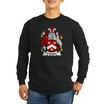 Pynsent Family Crest Long Sleeve Dark T-Shirt