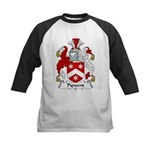 Pynsent Family Crest Kids Baseball Jersey