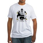 Purefoy Family Crest Fitted T-Shirt
