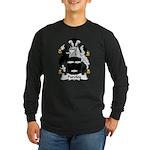 Purefoy Family Crest Long Sleeve Dark T-Shirt
