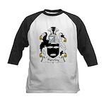 Purefoy Family Crest Kids Baseball Jersey