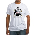 Prest Family Crest Fitted T-Shirt