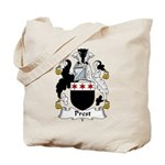 Prest Family Crest Tote Bag