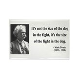 Mark Twain 2 Rectangle Magnet (100 pack)