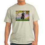 Garden / Black Pug Light T-Shirt