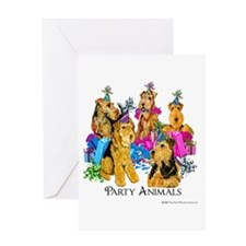 Welsh Terrier Party Greeting Card