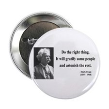 "Mark Twain 4 2.25"" Button"