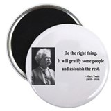 "Mark Twain 4 2.25"" Magnet (10 pack)"
