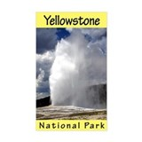 Yellowstone National Park (Vertical) Decal