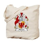 Pitman Family Crest Tote Bag