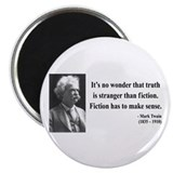 "Mark Twain 6 2.25"" Magnet (100 pack)"