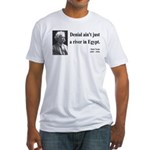 Mark Twain 7 Fitted T-Shirt
