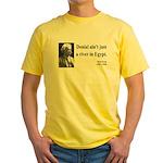 Mark Twain 7 Yellow T-Shirt