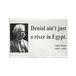 Mark Twain 7 Rectangle Magnet (100 pack)