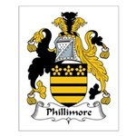 Phillimore Family Crest Small Poster