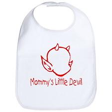 Mommy's Little Devil Bib