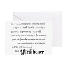 I Am a Half Marathoner- Congratulations Card