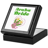Aruba Bride Keepsake Box