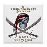 Rogue & Scalawag Tile Coaster