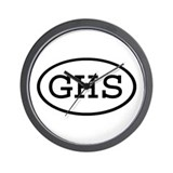 GHS Oval Wall Clock