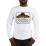 'Rain Cloud Chocolate' Long Sleeve T-Shirt
