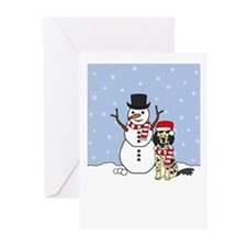 English Setter Howling Holiday Cards (Pk of 20)