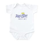¡Aquí estoy! Infant Bodysuit