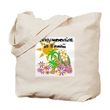 Honeymoon Hawaii Tote Bag