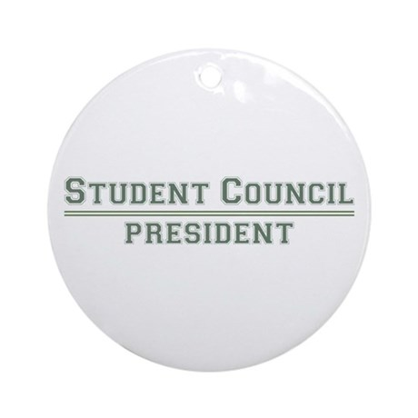 student council president What can a student council do to (positively) change  before a student council can  what grade is the high school student council/student body president.