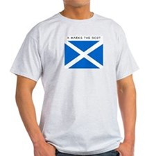 Unique Saltire scottish T-Shirt