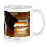 """The Hamburgler"" Small Mugs"