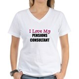 I Love My PENSIONS CONSULTANT Shirt
