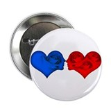 Love Hearts Button