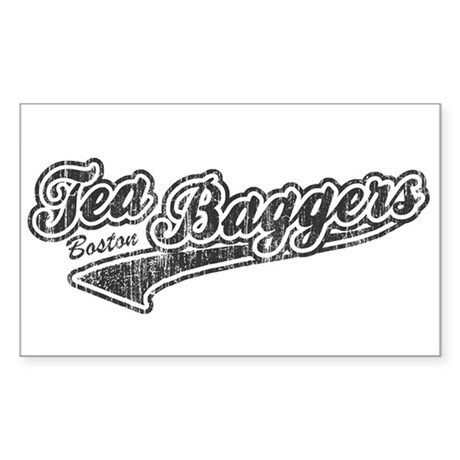 Boston Tea-Baggers Rectangle Sticker
