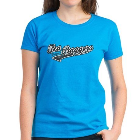 Boston Tea-Baggers Womens T-Shirt