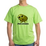 Potato Head with Toes Green T-Shirt